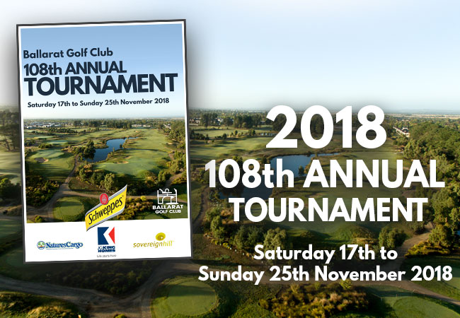2018 Annual Tournament