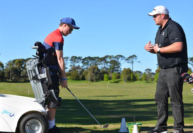 Para Golfer at BGC
