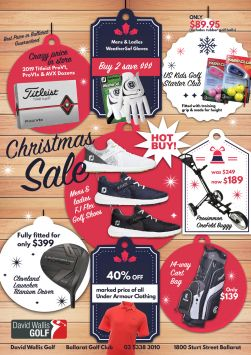 2019 12 Pro Shop Christmas Sale